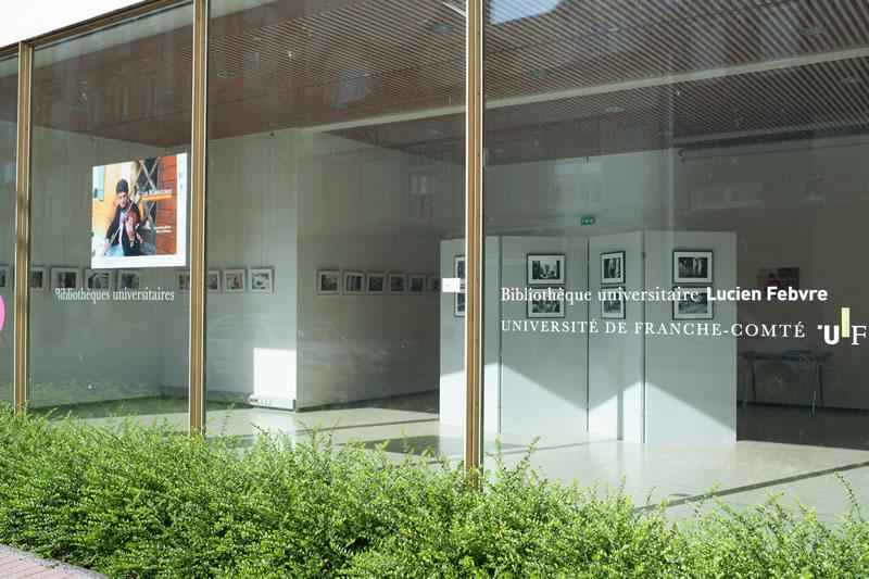 Exposition photos à la bibliothèque universitaire de Belfort